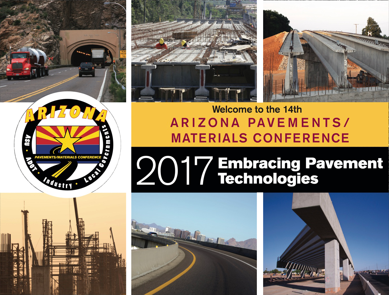 Welcome to the 14th Annaual Pavement/Materials Conference. The 2017 conference is entitled 'Embracing Pavement Technologies.'