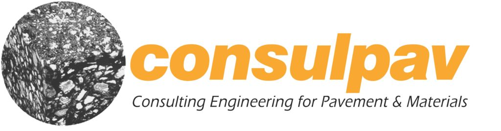 Logo: Consulpav (Consulting Engineering for Pavements and Materials)