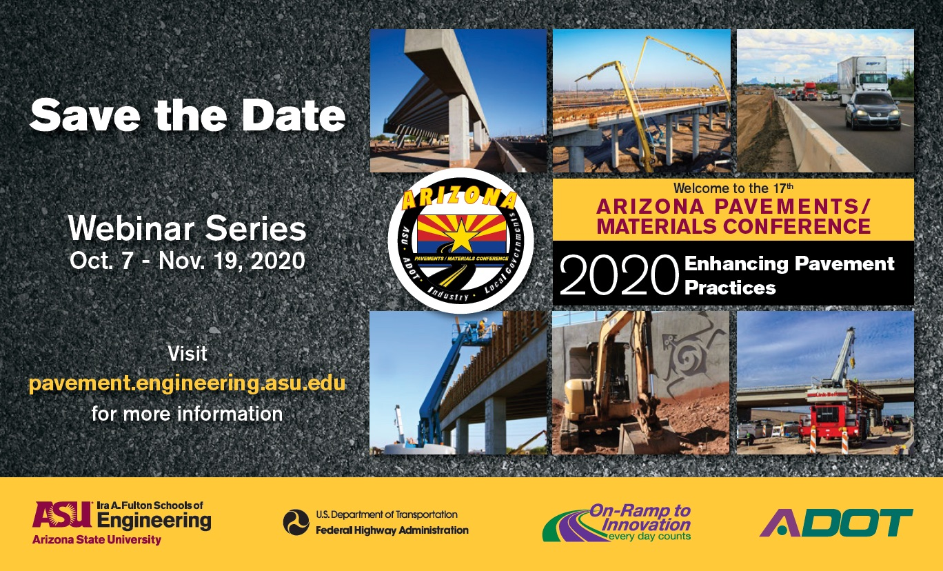 Arizona Pavements Materials Conference 2020 - Postcard